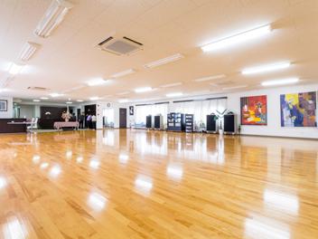2階・団体レッスンスタジオ